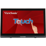 "Viewsonic TD1630-3 39.6 cm (15.6"") 1366 x 768 pixels Multi-touch Multi-user Black"