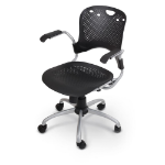 MooreCo 34555 office/computer chair Hard seat Hard backrest