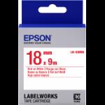 Epson LK-5WRN labelprinter-tape