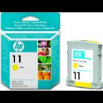 HP 11 Origineel Geel 1 stuk(s)