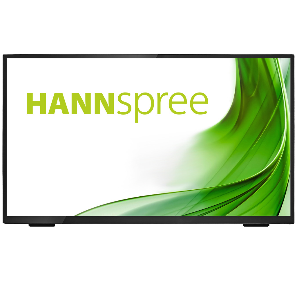 "Hannspree HT 248 PPB touch screen monitor 60.5 cm (23.8"") 1920 x 1080 pixels Black Multi-touch Tabletop"