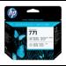 HP Cabezal de impresión DesignJet 771 negro fotográfico/gris claro