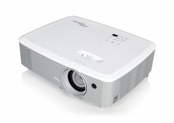Optoma W354 videoproyector 3400 lúmenes ANSI DLP WXGA (1280x800) 3D Proyector portátil Blanco