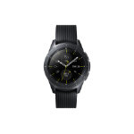 "Samsung SM-R810NZKABTU smartwatch Black SAMOLED 3.05 cm (1.2"") Cellular GPS (satellite)"