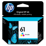 HP 61 Tri-color Original Cyan,Magenta,Yellow 1 pcs