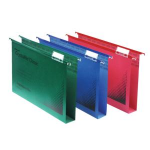 Rexel Crystalfile Classic Foolscap Suspension File 50mm Green (50)