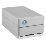 LaCie 2big Dock Thunderbolt 3 20000GB Desktop Grey disk array STGB20000400