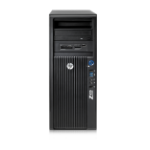 HP 420 DDR3-SDRAM E5-1650 Minitower Intel® Xeon® E5 Family 8 GB Windows 7 Professional Workstation