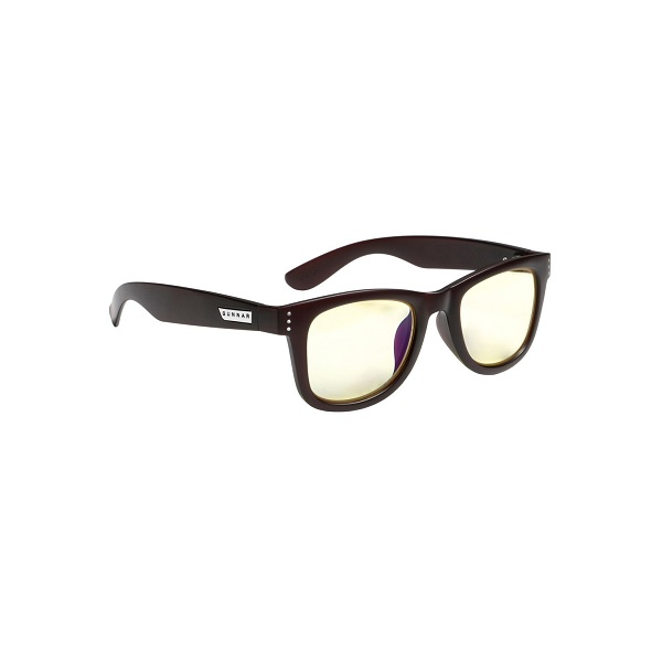 Gunnar Optiks Axial Amber Espresso Indoor Digital Eyewear