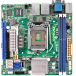 Asrock E3C224D2I Intel C224 LGA 1150 (Socket H3) Mini-ITX server/workstation motherboard