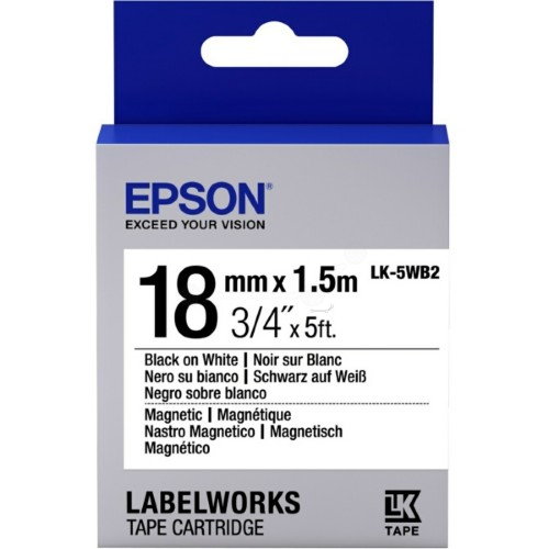 Epson C53S655001 (LK-5WB2) Ribbon, 18mm x 1,5m