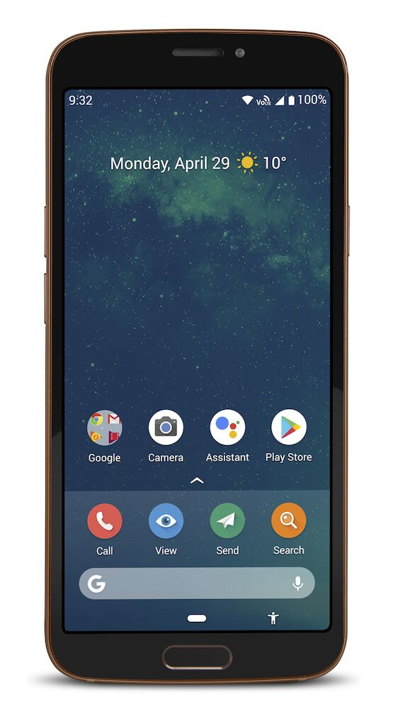 8080 BLACK 5.7IN 3GB ANDROID 9 LTE                IN