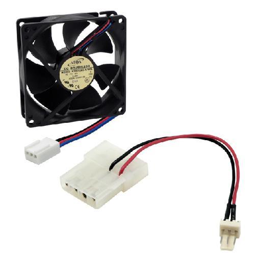 MCL 8DD-12X12VA ventilador de PC Carcasa del ordenador