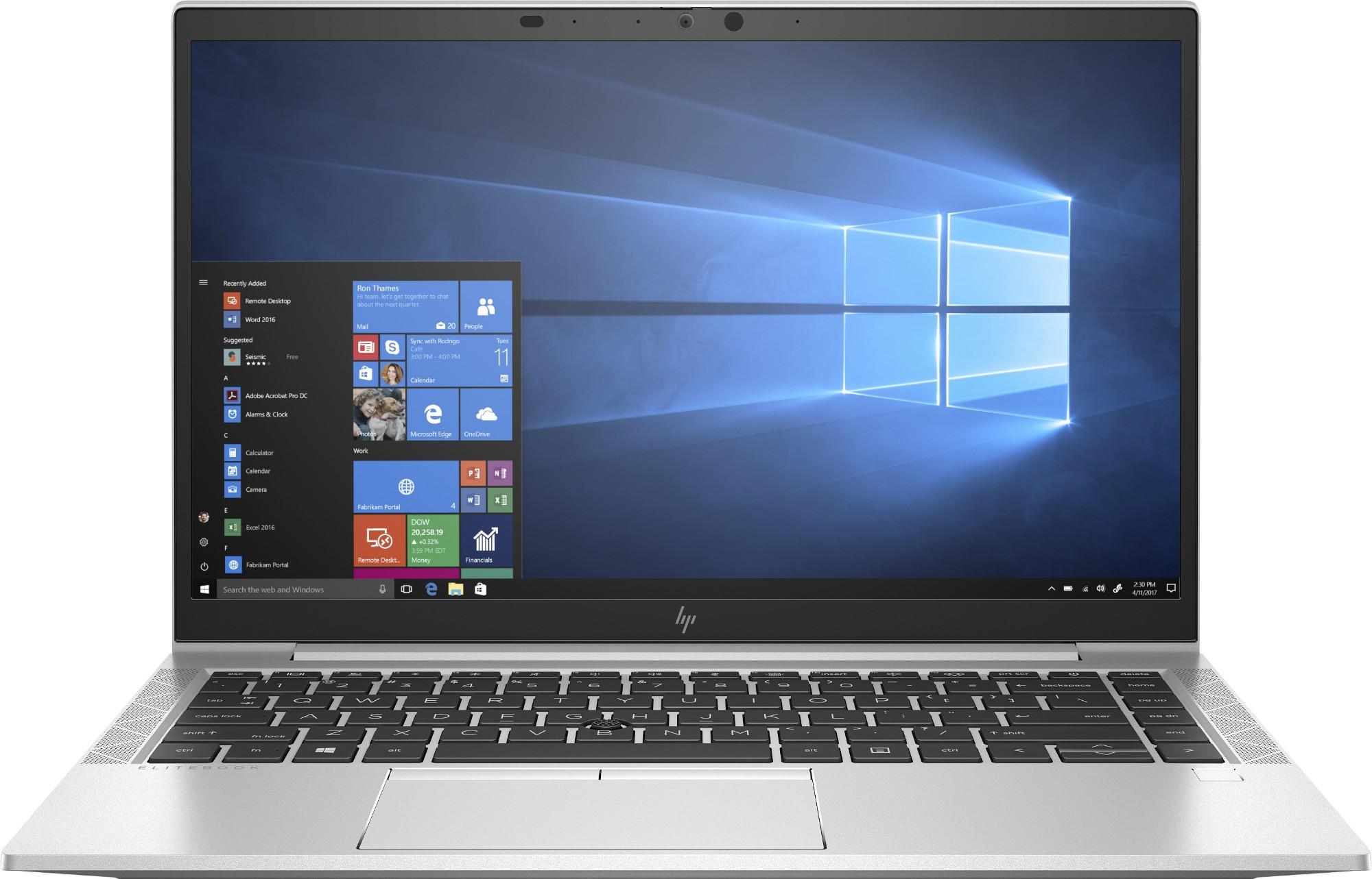 "HP EliteBook 840 G7 Ultra-draagbaar Zilver 35,6 cm (14"") 1920 x 1080 Pixels Intel® 10de generatie Core™ i5 8 GB DDR4-SDRAM 256 GB SSD Wi-Fi 6 (802.11ax) Windows 10 Pro"