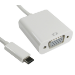 FDL 0.15M USB TYPE C TO VGA ADAPTOR CABLE (M-F)