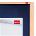 Nobo Internal Display Case Blue Felt with Wooden Frame 1000x825mm