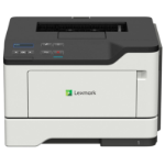 Lexmark Mono Laser-Network ready; duplex; 40 ppm; wireless; 1GHz Dual-core; 512MB RAM, 1200x1200 dpi; 2 Line