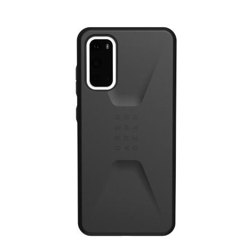 "Urban Armor Gear Civilian Series mobile phone case 15.8 cm (6.2"") Cover Black"