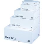LSM White Mailing Box 240x180x 80mm Size S White PK20