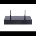 Hewlett Packard Enterprise HPE MSR954-W 1GbE SFP (WW) 2GbE-WAN 4GbE-LAN Wireless 802.11n CWv7 router inalámbrico Banda única (2,4 GHz) Gigabit Ethernet Gris