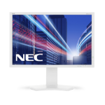 "NEC MultiSync P242W 24.1"" Full HD IPS White"