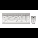 Cherry DW 8000 RF Wireless AZERTY French Silver,White keyboard