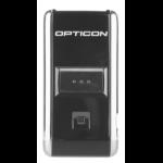 Opticon OPN-2006 Draagbare streepjescodelezer 1D Laser Zwart, Zilver