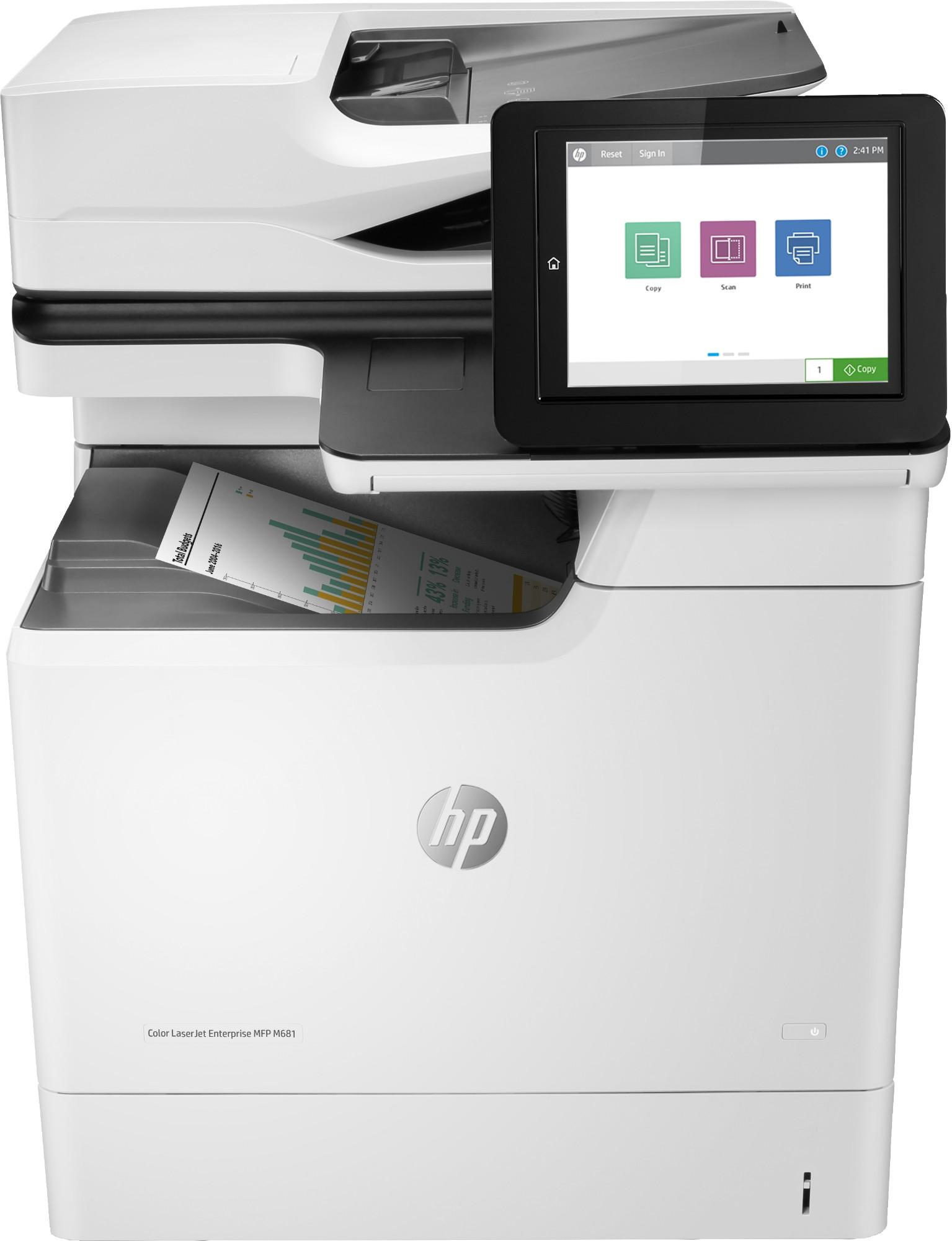 HP Color LaserJet Enterprise MFP M681dh Laser 47 ppm 1200 x 1200 DPI A4