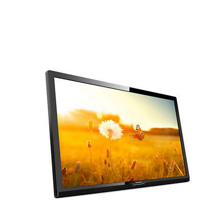 "Philips EasySuite 24HFL3014/12 TV 61 cm (24"") HD Black"