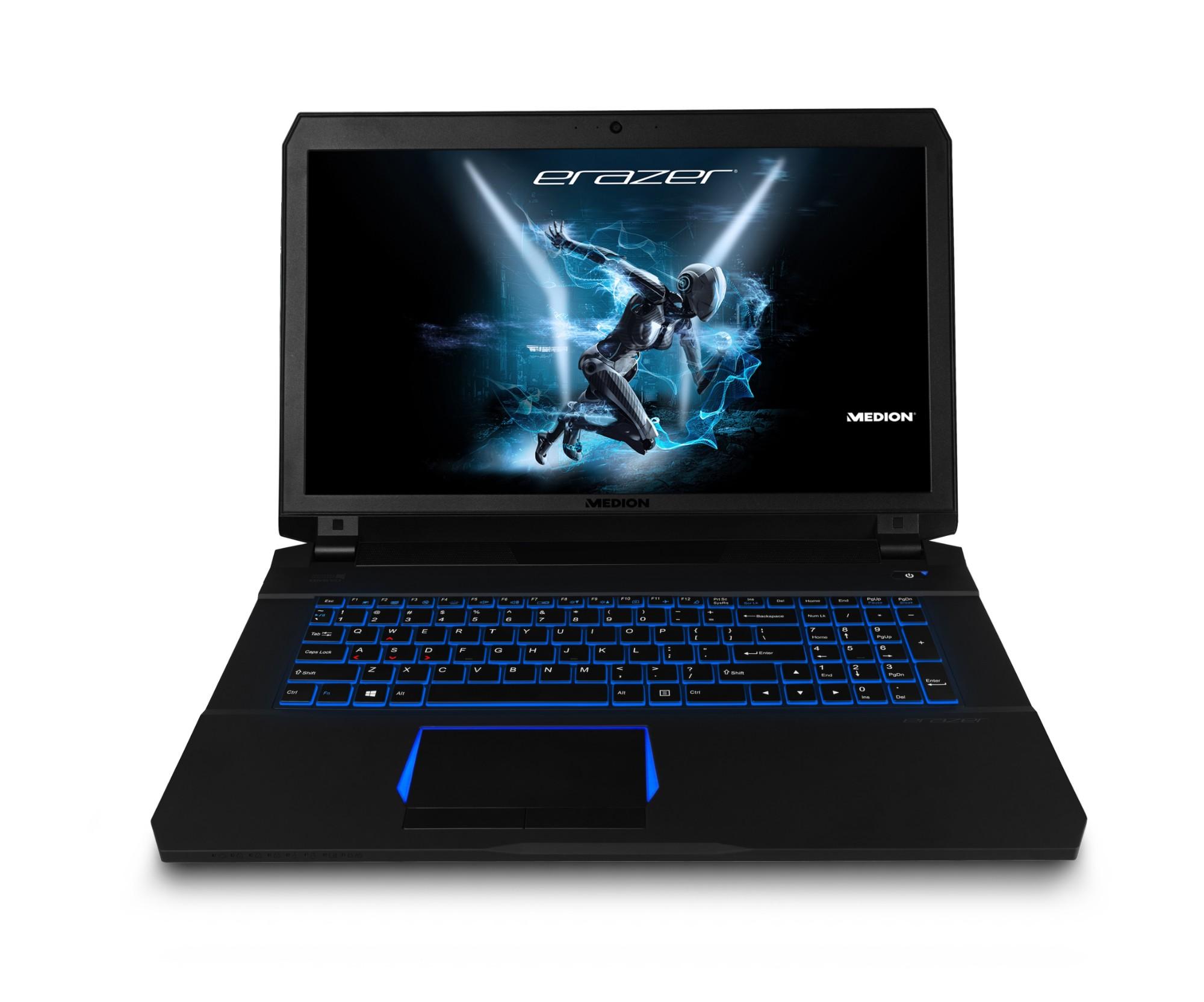 "MEDION ERAZER X7851 Notebook Black 43.9 cm (17.3"") 1920 x 1080 pixels 7th gen Intel® Core�""� i5 8 G"