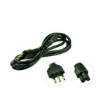 2-Power PWR0004D power cable Black