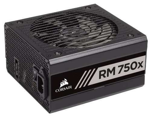 Corsair RM750x (2018) power supply unit 750 W ATX Black