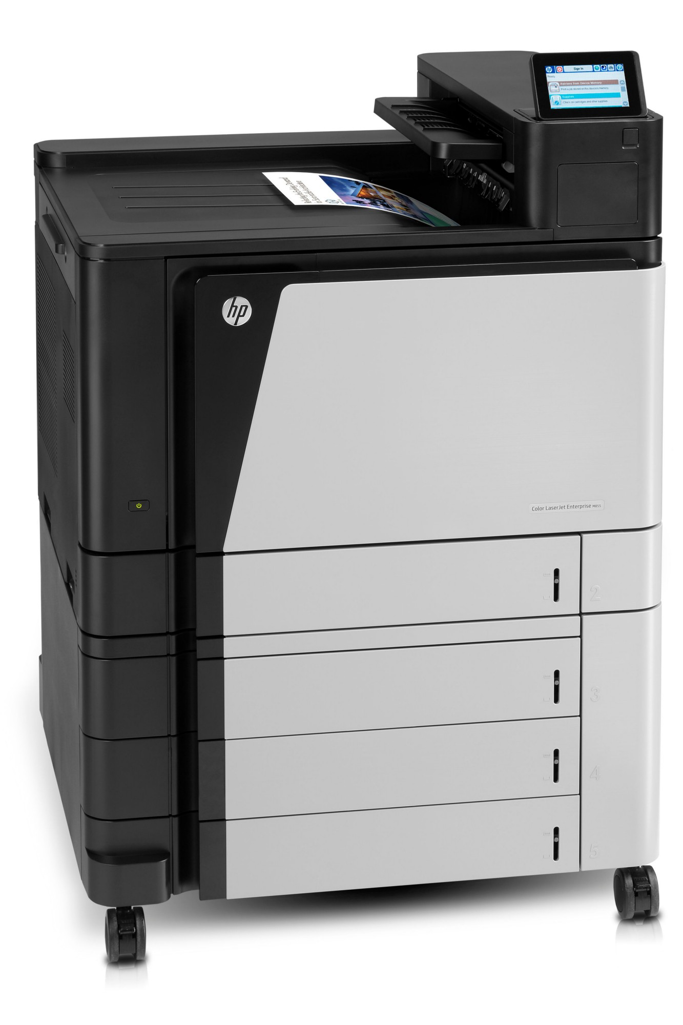 HP LaserJet Color Enterprise M855xh Printer A2W78A#B19