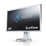 "EIZO FlexScan EV2416WFS3 24"" TN+Film Grey computer monitor"
