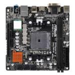 ASROCK A88M-ITX/AC, AMD A88X, FM2+, Mini ITX, DDR3, AC Wi-Fi, Btooth, M.2, RAID, FM2+ 95W / FM2 100W