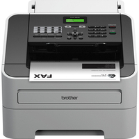 Fax-2840 Laser Fax Machine With Print And Copy Capabilities