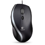 Logitech M500 mice USB Laser 1000 DPI Right-hand Black