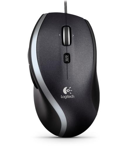 Logitech M500 mouse USB Laser 1000 DPI Right-hand