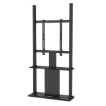 StarTech.com Digital Signage Display Stand - Black - Locking