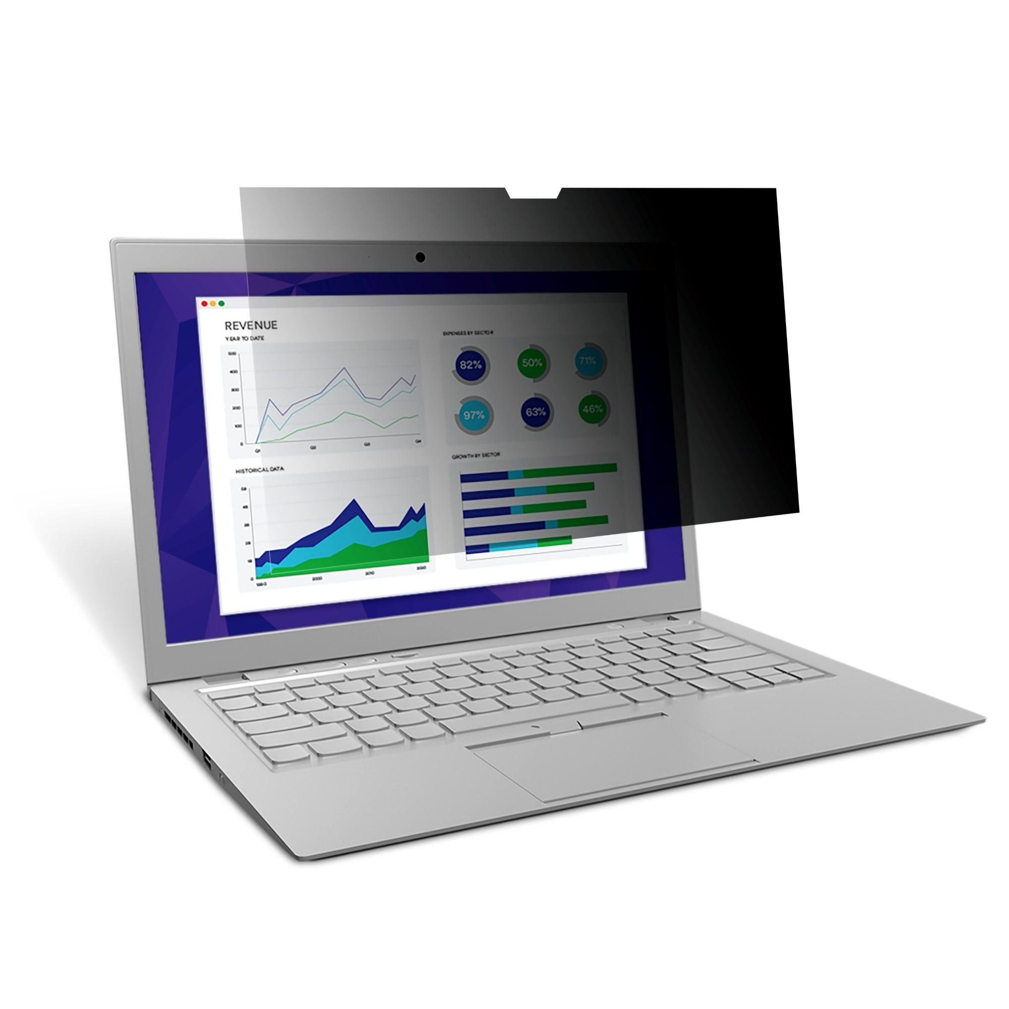 """3M Privacy Filter for 12.5"""" Edge-to-Edge Widescreen Laptop"""