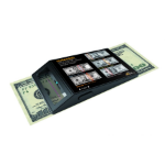 Royal Sovereign RCD-UVP counterfeit bill detector Black