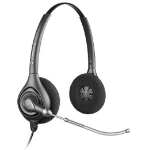 Plantronics SupraPlus Wideband HW261/A Binaural Head-band Black headset