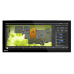 "AMX MXD-2000XL-PAN 20.3"" Multi-user Black touch screen monitor"
