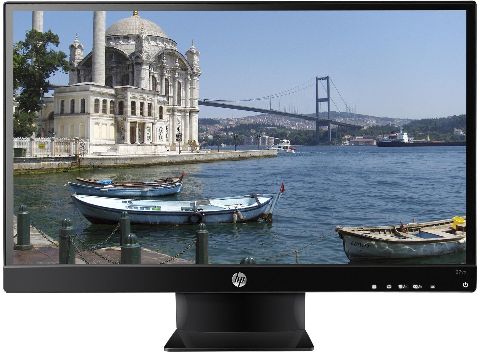 "HP 27vx 27"" Black Full HD"