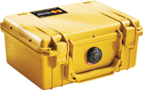 Peli 1150 Briefcase/classic case Yellow