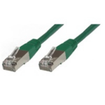 Microconnect Rj-45/Rj-45 Cat6 10m 10m Cat6 S/UTP (STP) Green networking cable