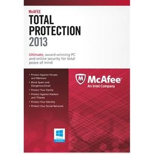 McAfee Total Protection 2013, 3u, UPG, CD