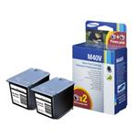 Samsung INK-M40V/ELS (M40) Printhead black, 750 pages @ 4% coverage, 14ml, Pack qty 2