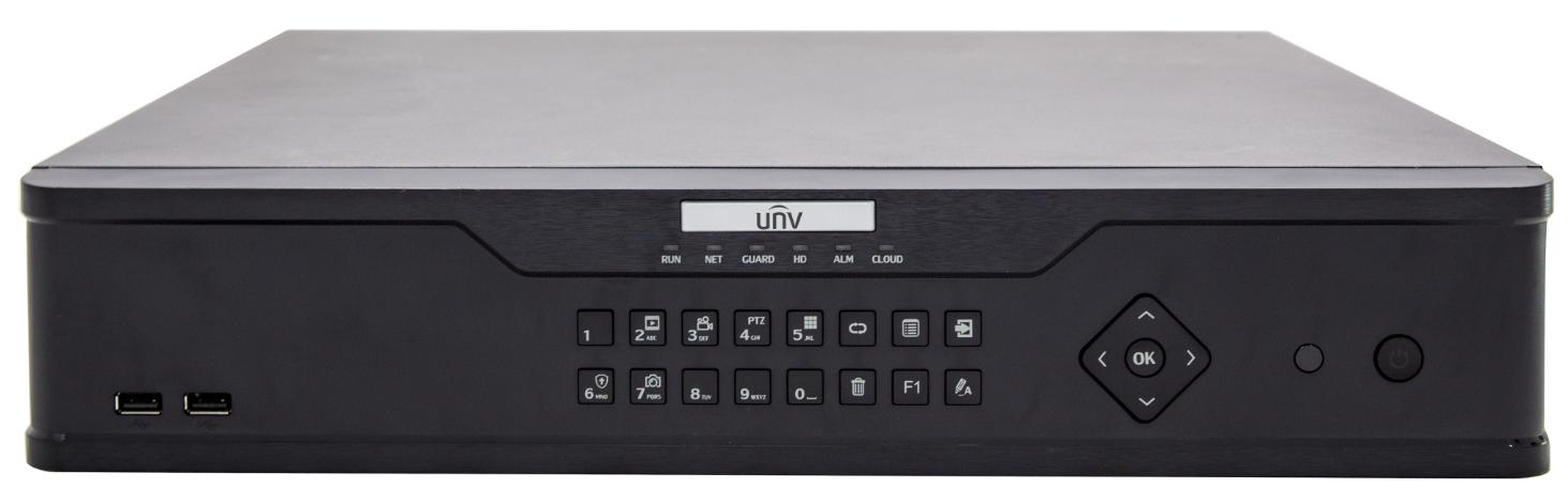 Uniview NVR304-16EP-B network video recorder Black