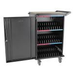 Tripp Lite CSC36AC portable device management cart/cabinet Black